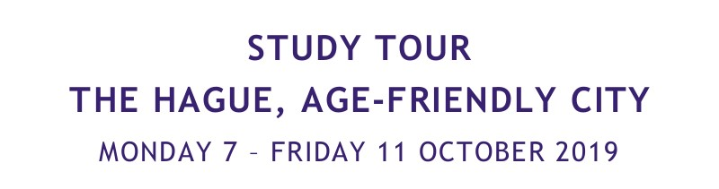 Inspiring study visit Age-friendly City The Hague (NL)