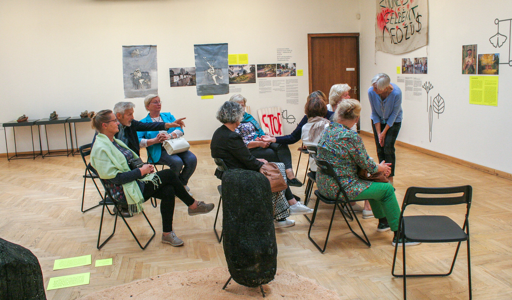 "Creative workshop ""Seniors' Manifest to the City"" in Lithuania 2019.SEP.18 (EN+LT)"