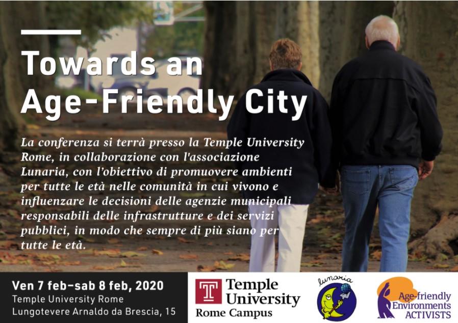 National Multiplier Event: Towards an Age-Friendly City  in Rome 2020.FEB.07-08 (EN+IT)