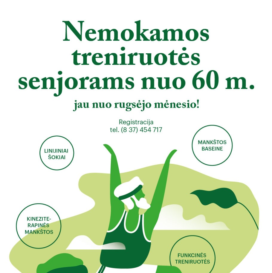 Interactive lecture on healthy ageing in Kaunas 2019.OCT.02 (EN+LT)